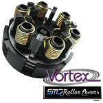 SMC Vortex Black Three Disc Kart Racing Clutch