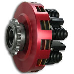 SMC Vortex Red Two Disc Kart Racing Clutch